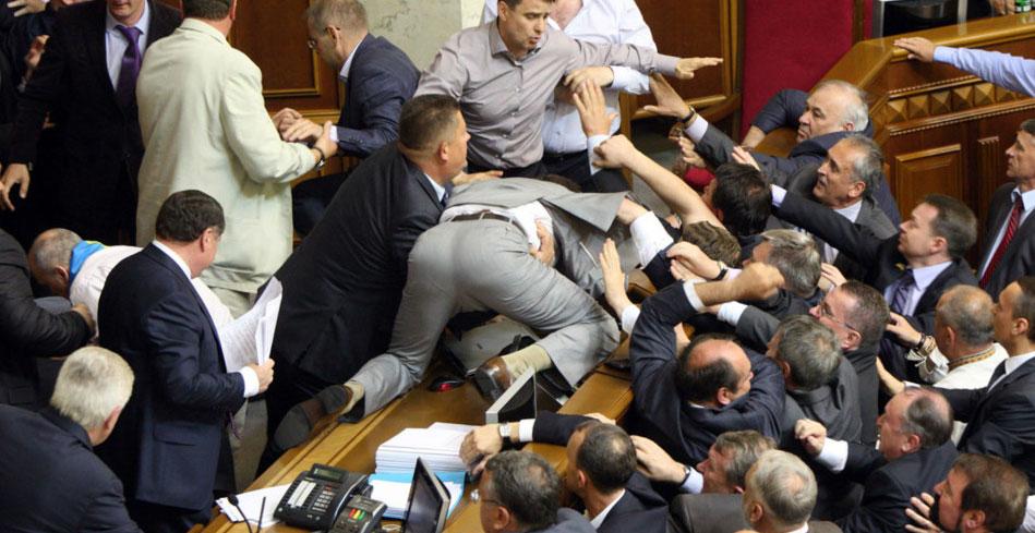 Image result for fight ukraine parliamant