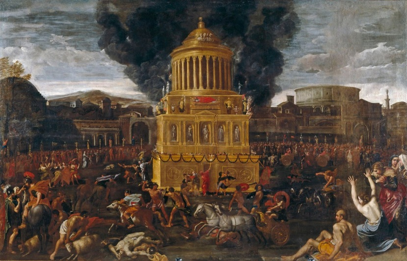 Domenichino-Funeral-for-Roman-Emperor-c1634-35-Prado