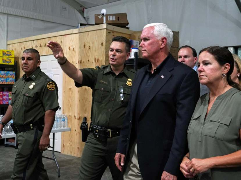 Mike-pence-border