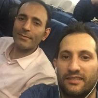 Sahan Hatefi Mostaghim and Shahab Raana, Photo: Hossein Ensafi Moghaddam